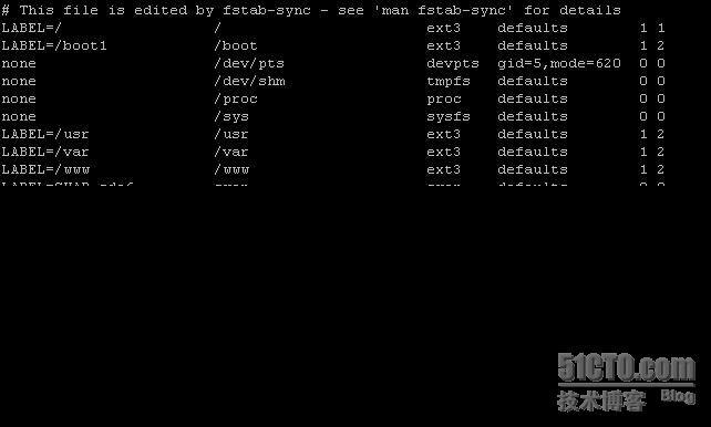 Linux下添加新硬盘,分区及挂载  Linux 建站  第12张