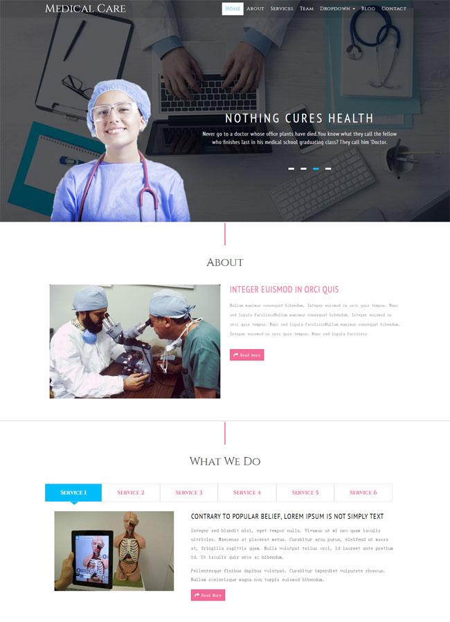 医疗人才网网站模块