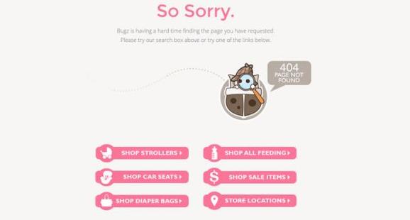 网站建设404页面设计技巧 404页面设计 网站建设 建站  第1张
