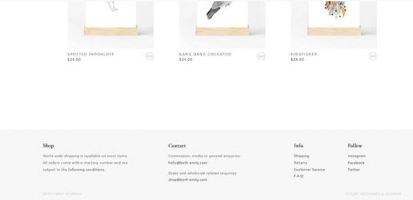 网站建设实用的页脚设计小技巧 页脚设计 建站  第5张