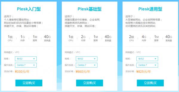 史上最强福利 阿里云三折起 + Plesk免费  运营  第3张