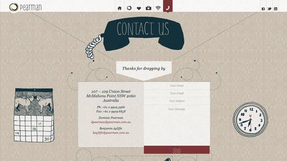 联系我们页面要如何设计才能让人真的想联系? 网页设计 建站  第1张