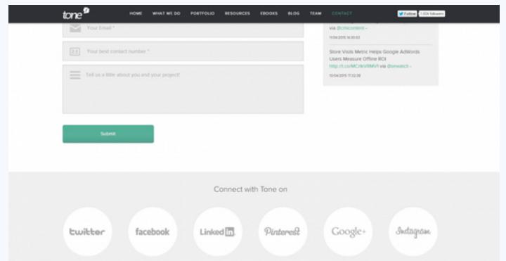 联系我们页面要如何设计才能让人真的想联系? 网页设计 建站  第6张