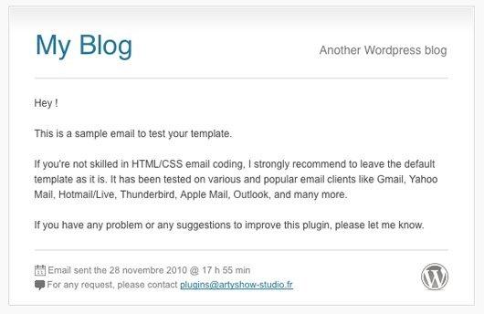 使用 WP Better Emails 自定义 WordPress 邮件样式 WordPress基础教程 wordpress教程  第2张