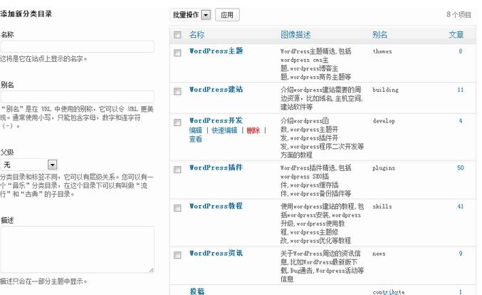 WordPress入门 之 创建和管理文章分类 WordPress新手入门 wordpress教程  第1张