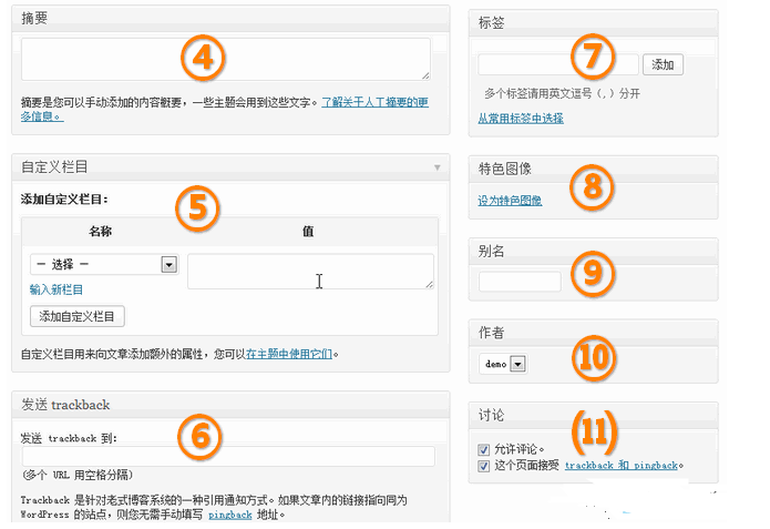 WordPress入门 之 发布新文章和管理文章 WordPress新手入门 wordpress教程  第2张