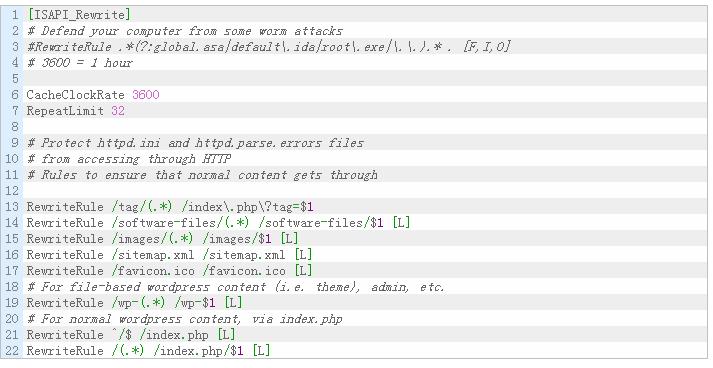 WordPress 伪静态规则(IIS/Apache/Nginx) WordPress新手入门 wordpress教程  第2张