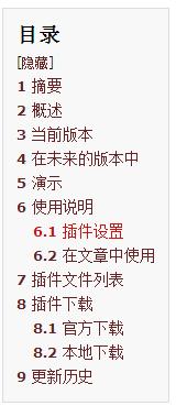 WordPress文章目录插件:Content Index for WordPress WordPress网站seo wordpress教程  第1张