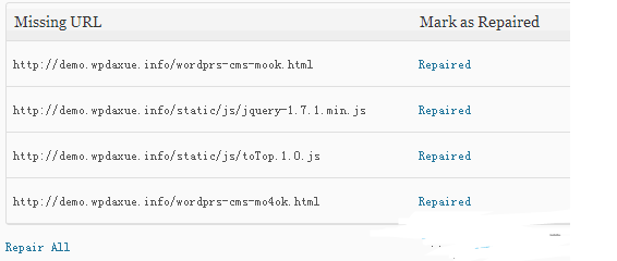 WordPress 404错误统计及重定向插件 WordPress网站seo wordpress教程  第1张