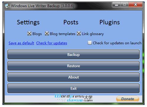 Windows Live Writer 之 自定义字段插件+备份工具 WordPress网站维护 wordpress教程  第7张