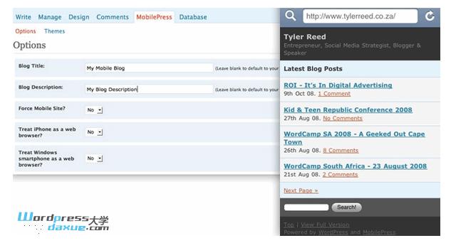 6 个 WordPress 手机主题调度插件 WordPress网站维护 wordpress教程  第3张