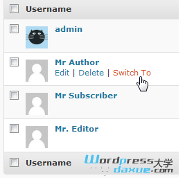 WordPress用户切换插件:User Switching WordPress网站维护 wordpress教程  第1张