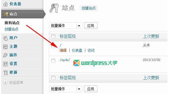 WordPress 开启多站点(含Apache和Nginx伪静态规则) WordPress网站维护 wordpress教程  第13张