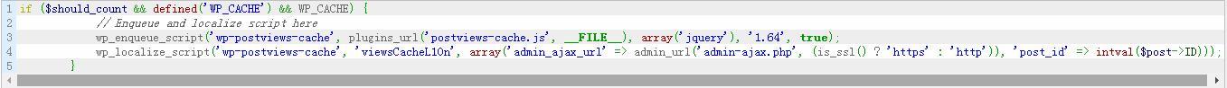 解决开启 WP Super Cache 缓存时 WP Postviews 不计数的问题 WordPress网站维护 wordpress教程  第1张