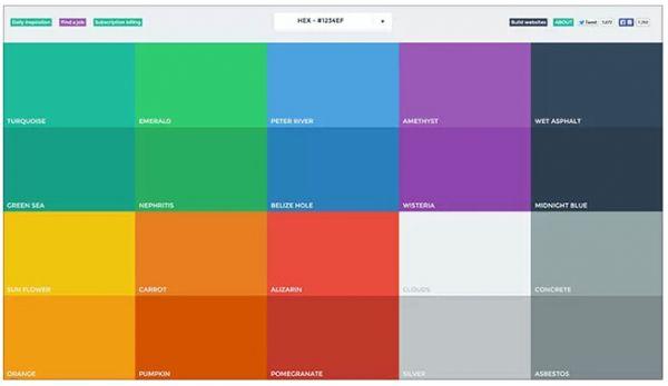 网站建设凸显效果的配色原则 网站建设 建站  第1张