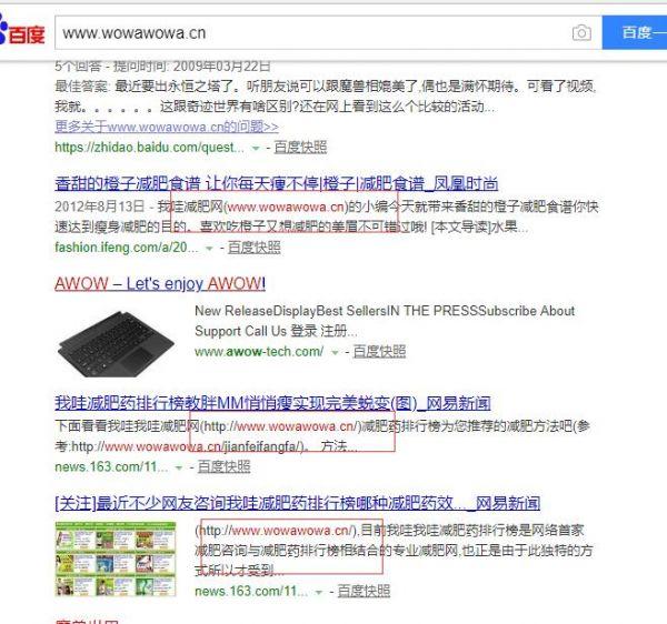 曾经年入百万的我哇减肥网整体优化方案 优化 河南seo SEO  第1张