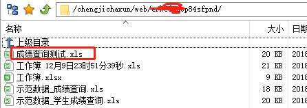 如何制作支持php在线成绩查询系统使用的二维表? excle 建站  第12张