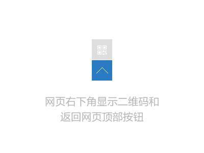 Z-blogPHP插件 返回网页顶部按钮+二维码