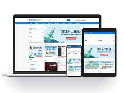 星岚网络工作室主题 | 网络科技公司官网模板